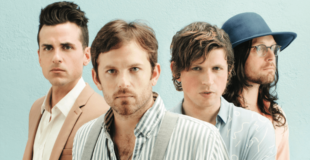 Catch A Free Kings Of Leon Concert During The 2018 Calgary