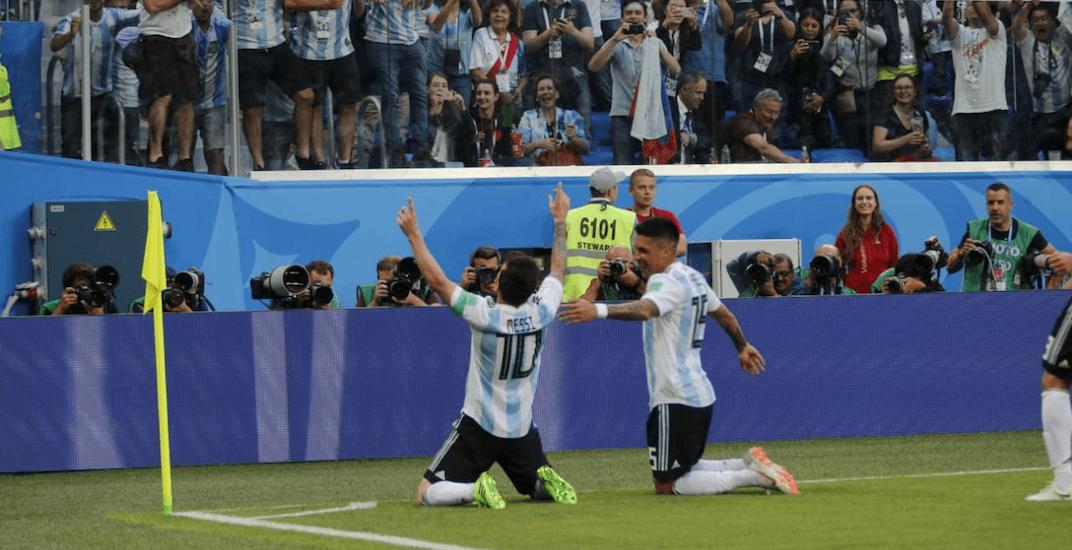 Messi goal argentina