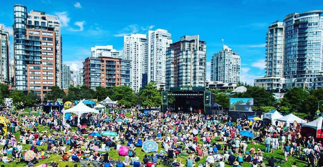There's going to be a FREE concert by False Creek this weekend