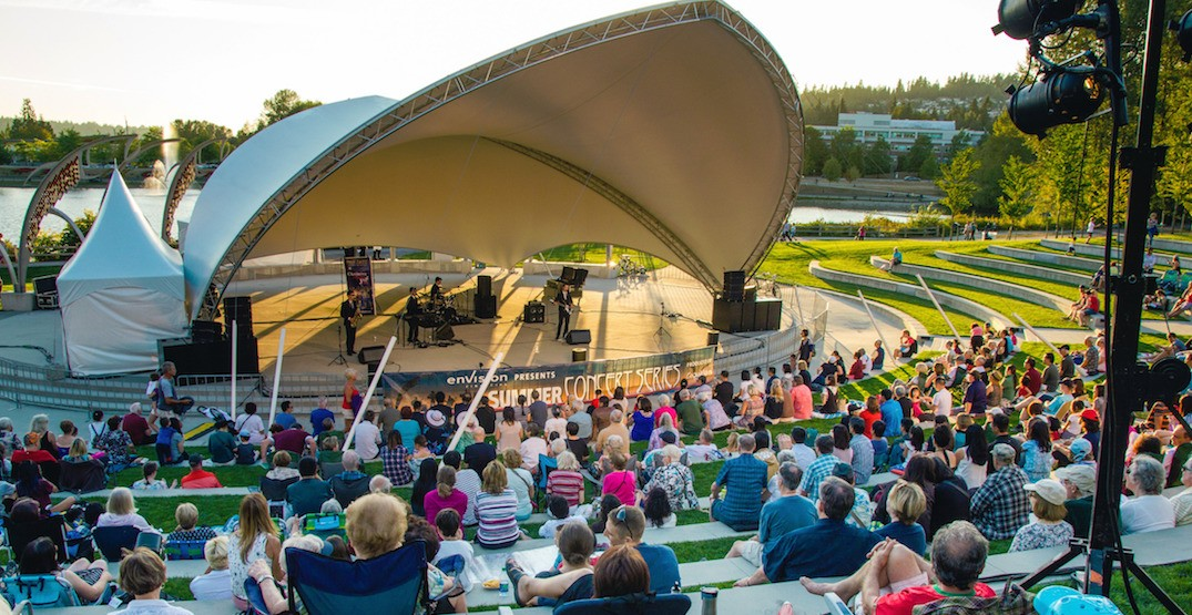 Enjoy FREE outdoor concerts at Coquitlam's Summer Concert Series