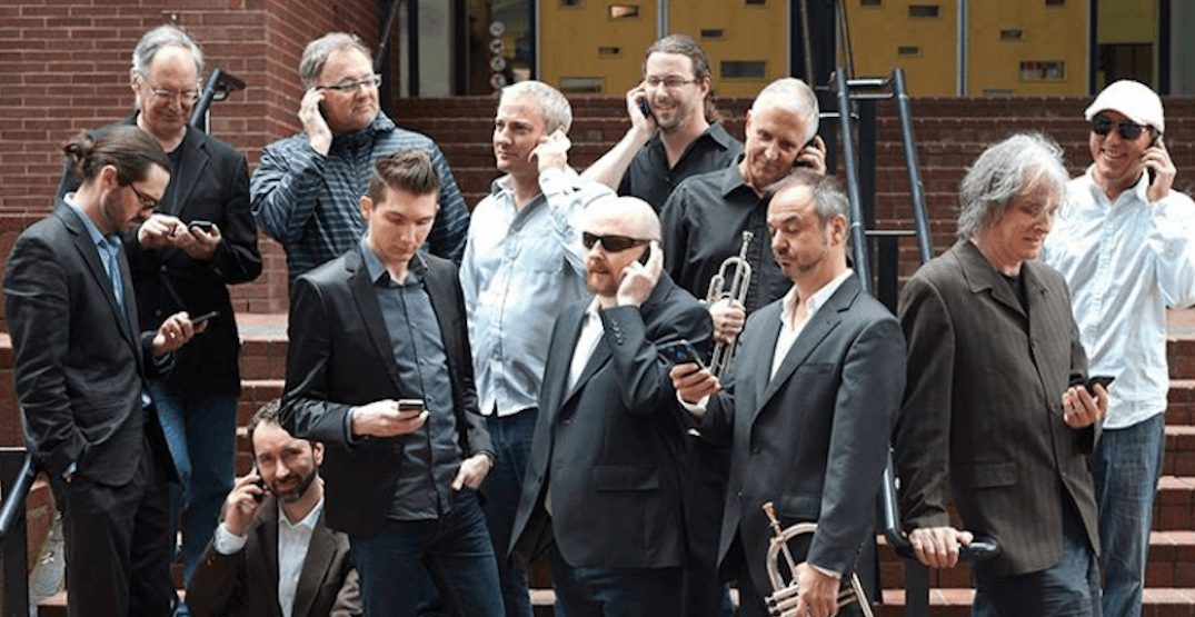 See the Hard Rubber Orchestra with Sal Ferreras at the TD Vancouver Jazz Festival