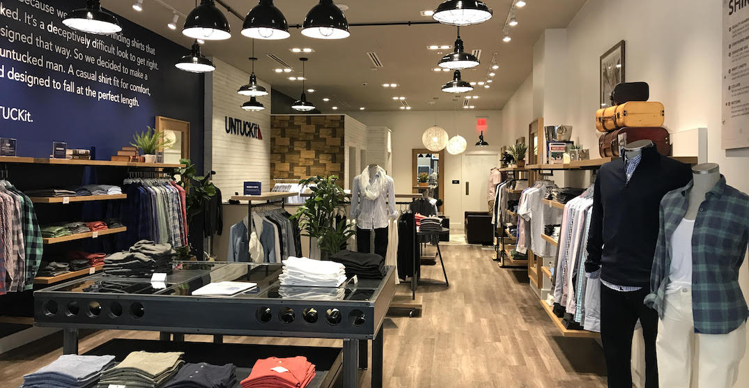 US retailer UNTUCKit opening first international store in Toronto (PHOTOS)