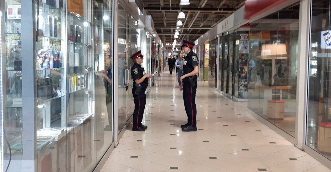Police raid Pacific Mall as part of investigation into counterfeit goods