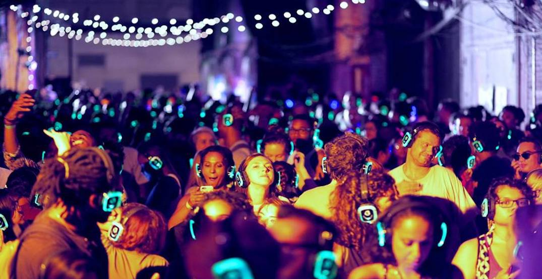 Dance your way into Canada Day during a silent disco in Vancouver this weekend