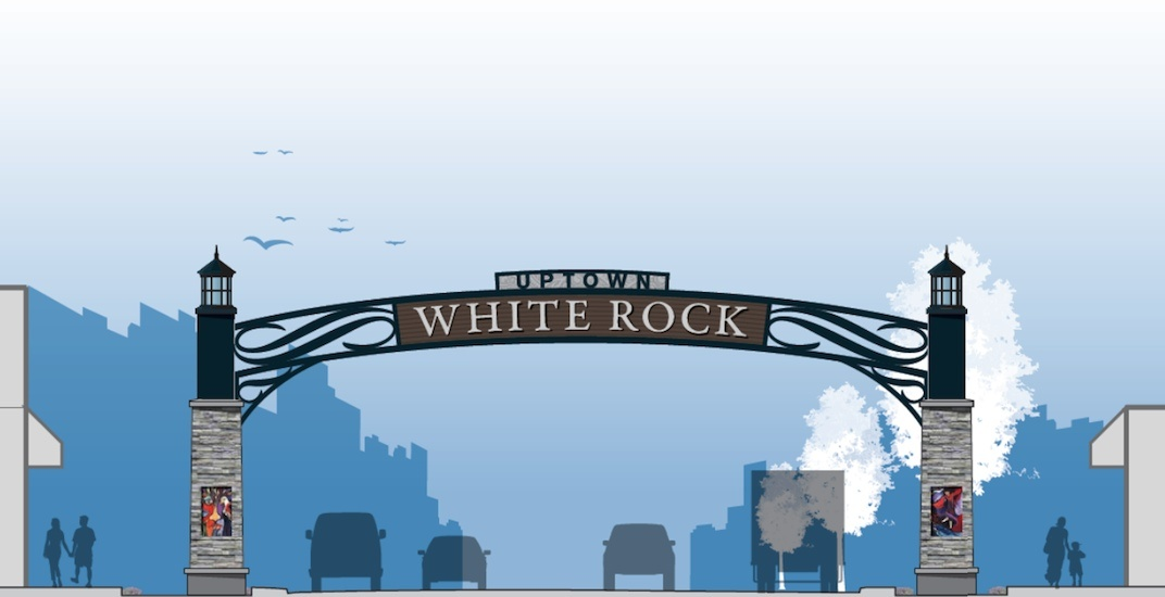 White rock gateway feature sign 5