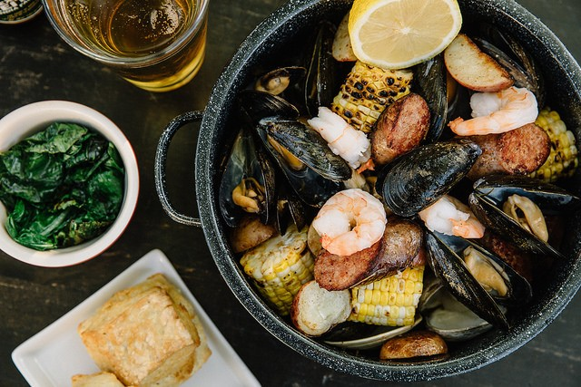 The Drake Hotel seafood boil
