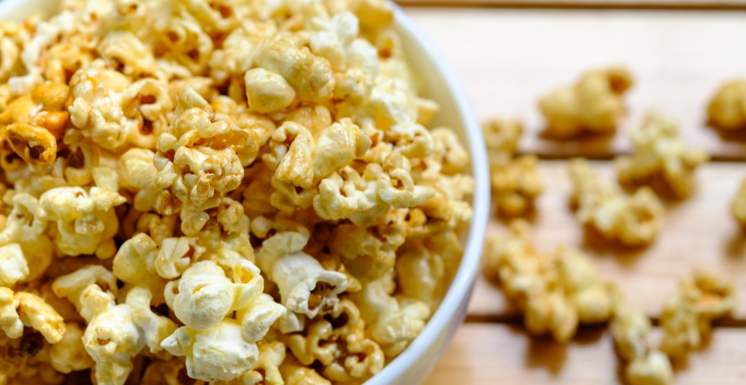 You can now get Cineplex movie snacks delivered to your house