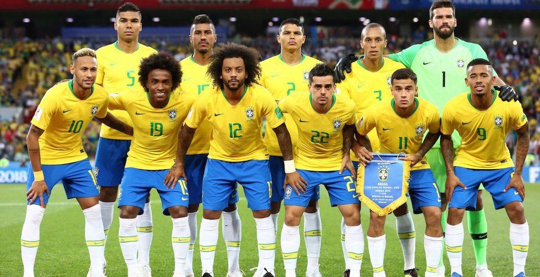 Brazil world cup 2018