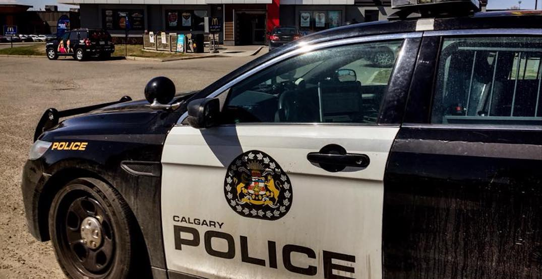 Three charged after arrests made in Calgary car chase