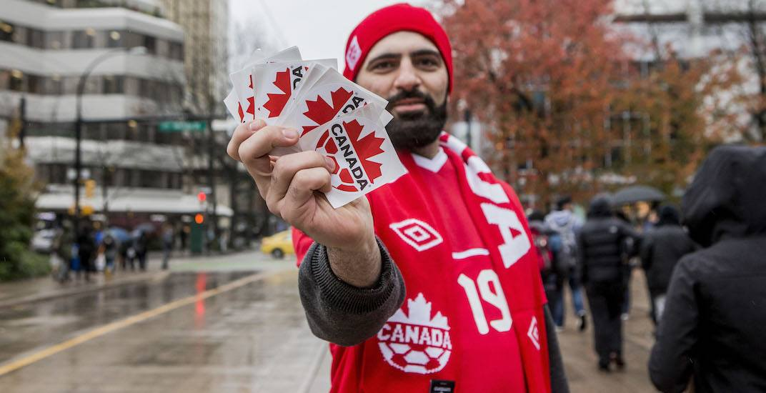 Canada soccer fan