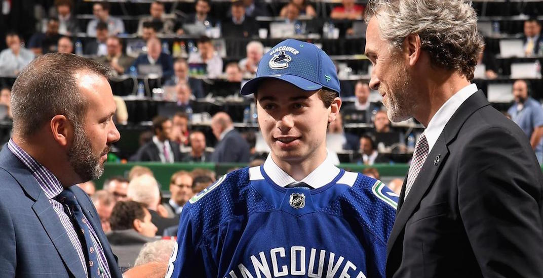 You can see Canucks prospects at Rogers Arena for FREE next week