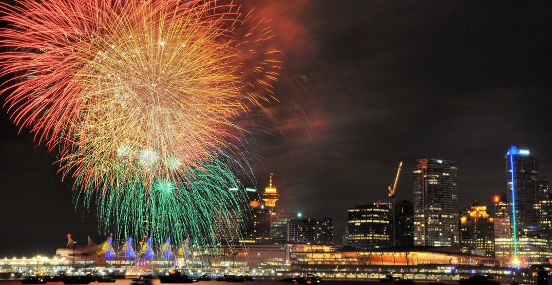 The 9 best places to watch downtown Vancouver's Canada Day fireworks