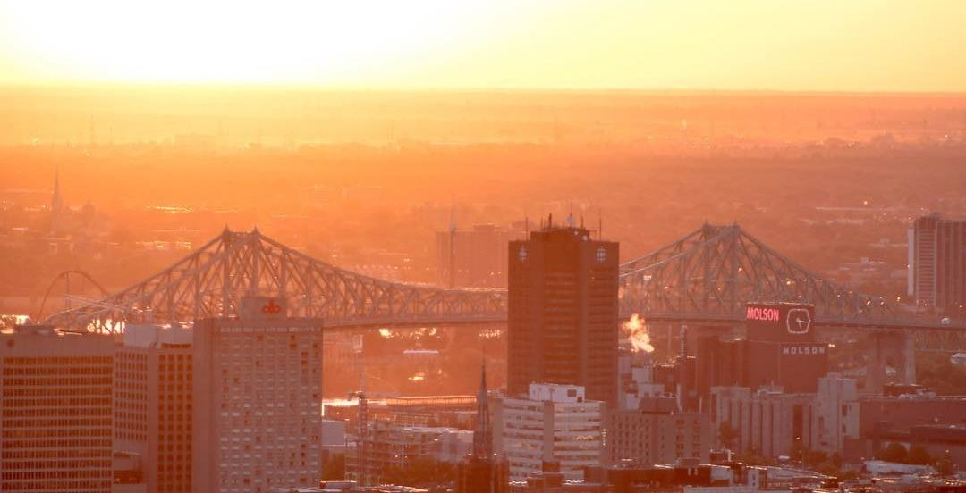 Montreal smashed a 60-year-old temperature record yesterday