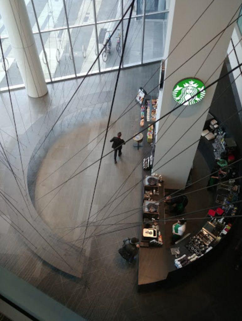 Starbucks Shaw Tower Kengo Kuma