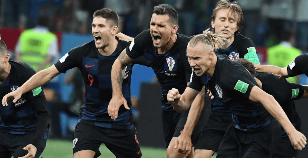 Croatia world cup win
