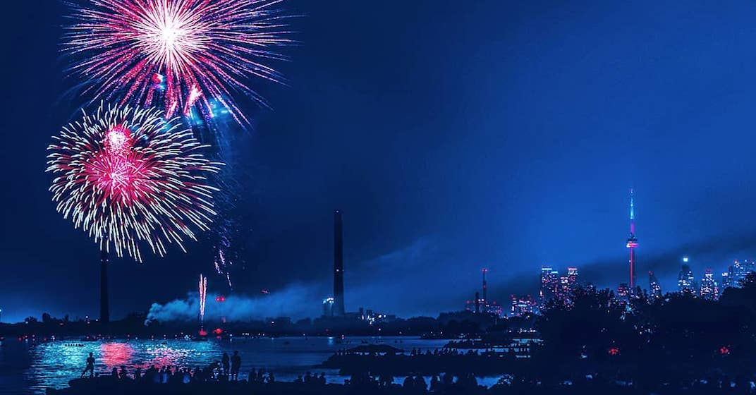 20 incredible shots of Canada Day fireworks in Toronto (PHOTOS)