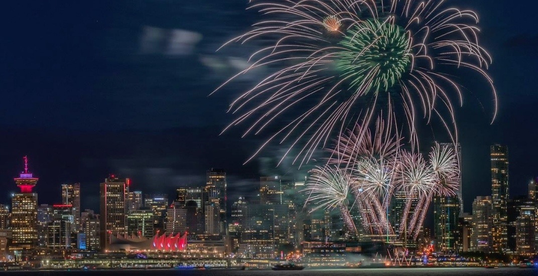 Vancouver canada day fireworks 2018