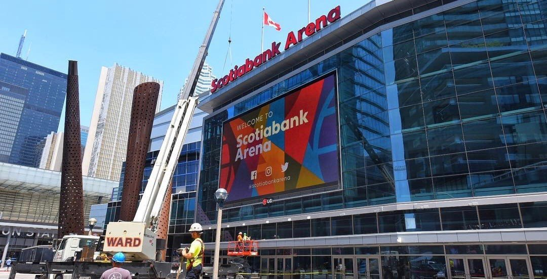 The Air Canada Centre has officially become the Scotiabank Arena