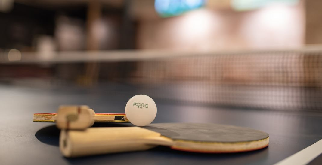 Pong Bar brings table tennis and beer to the PATH in Toronto