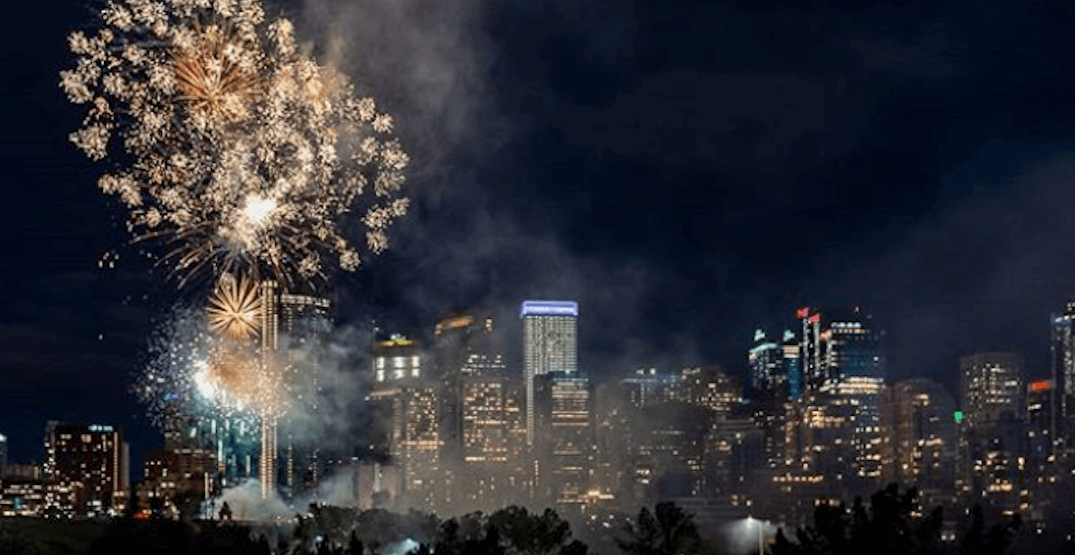 Fireworks lit up the night over Calgary on Canada Day (PHOTOS, VIDEOS)