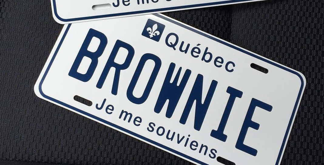 Quebecers will be able to get custom licence plates by the end of July