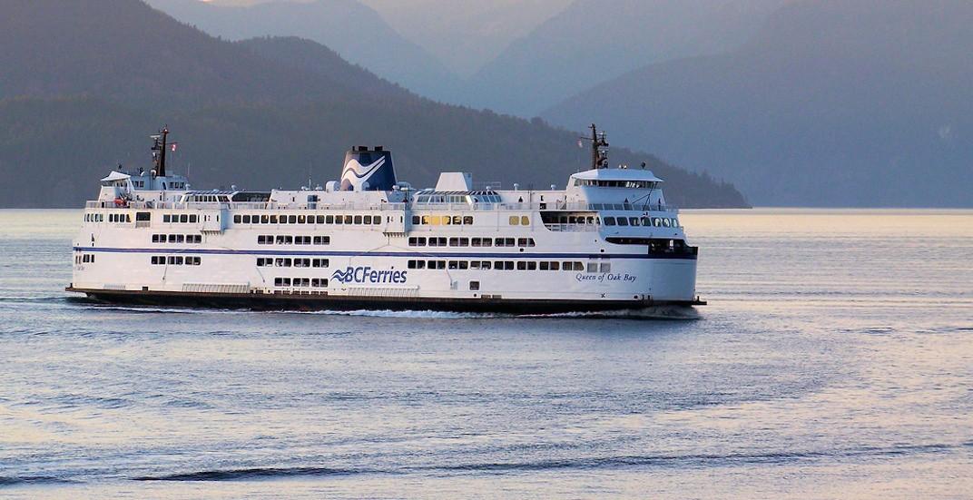Bc ferries queen of oak bay
