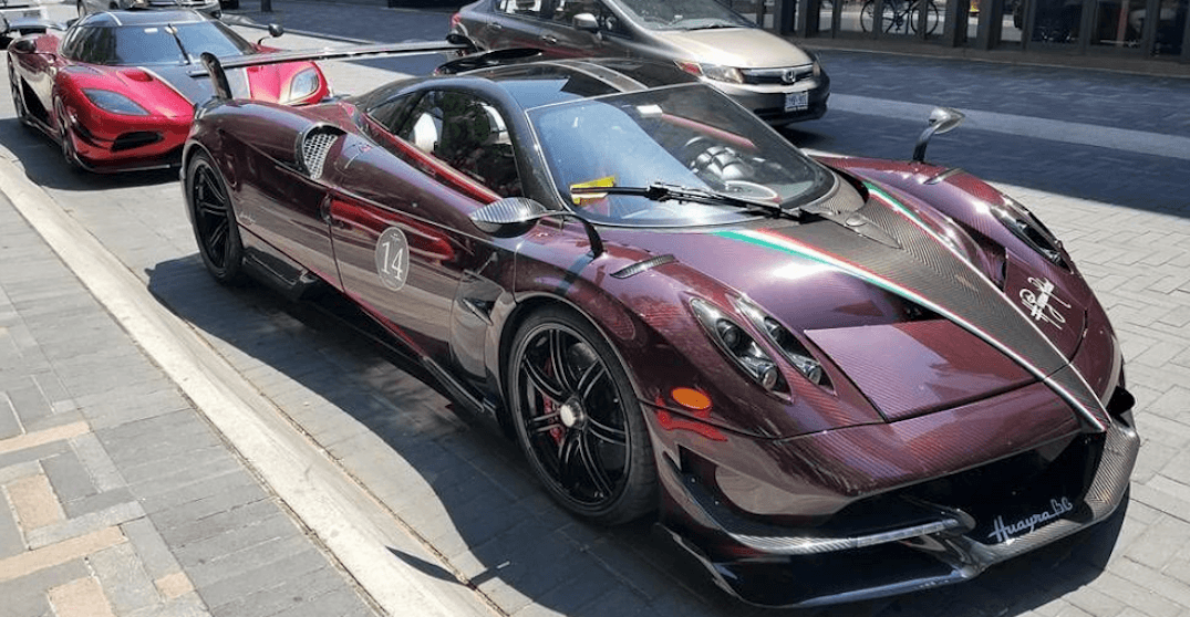 Rare $3M car spotted in Yorkville... with parking ticket (PHOTOS)