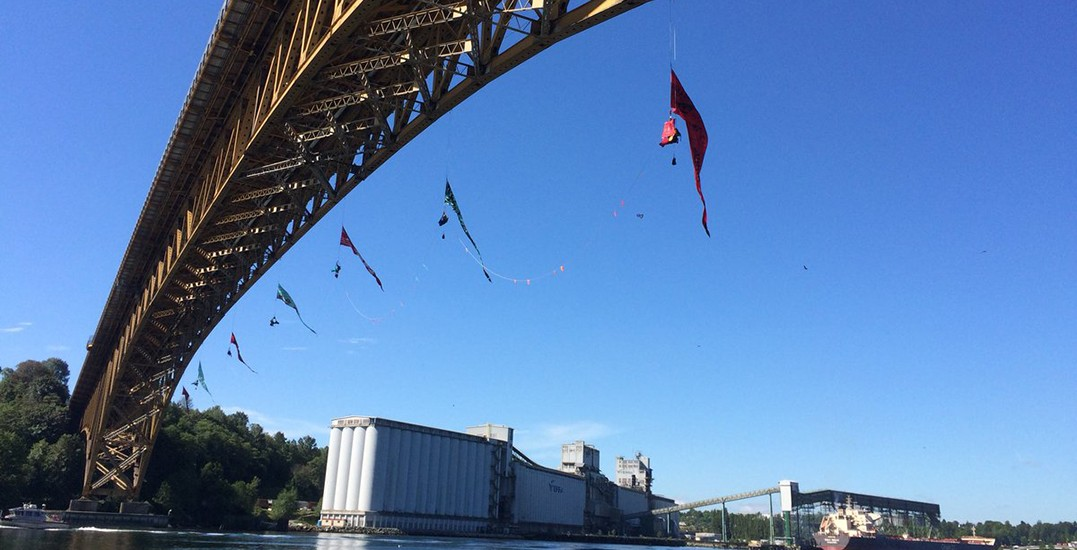 RCMP confirms Ironworkers Bridge Protesters have been arrested and charged