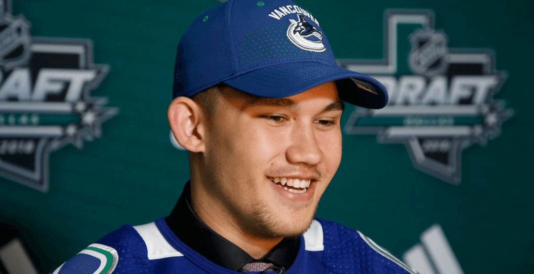 Canucks prospect Jett Woo has a chance to be a fan favourite in Vancouver