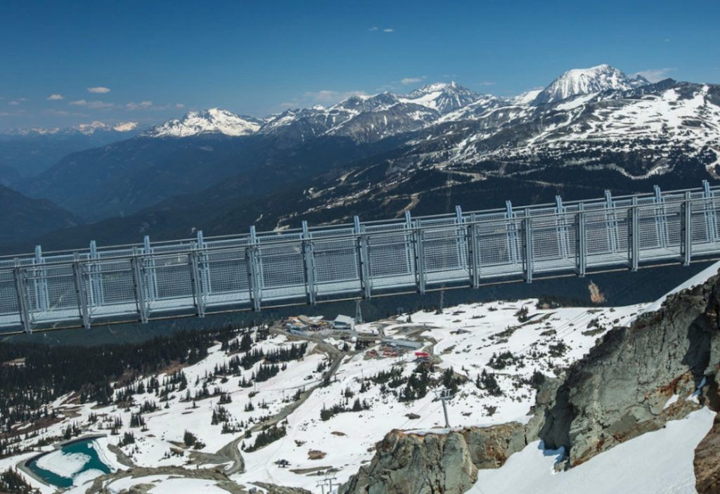 Whistler Peak Suspension Bridge