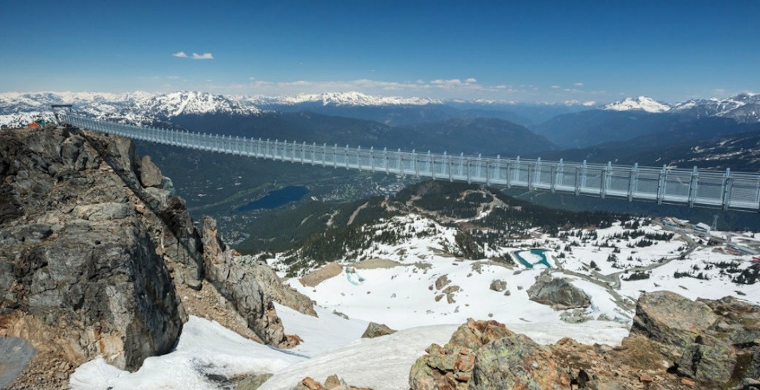 Whistler's brand new 427-ft-long mountaintop suspension bridge is now open (PHOTOS)