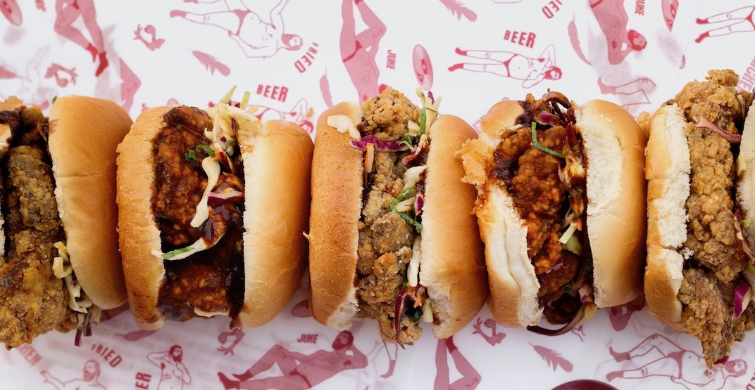 This Vancouver spot is offering $3 fried chicken sandwiches tomorrow