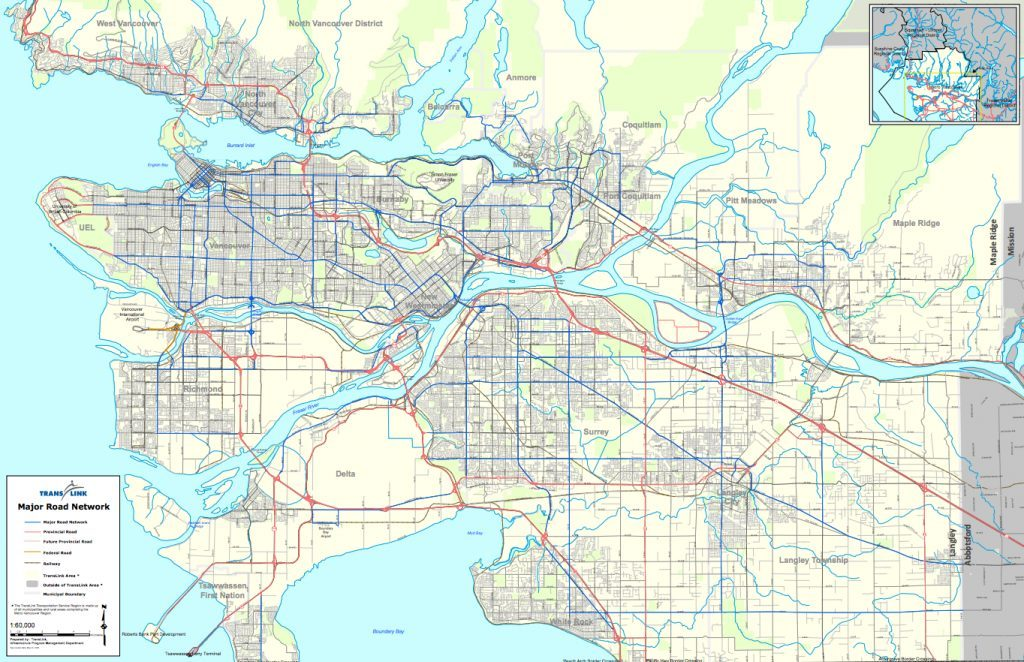 TransLink Major Road Network
