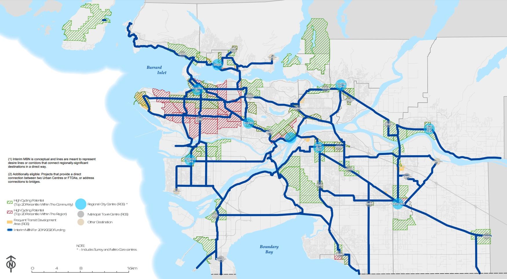 TransLink Major Bike Network