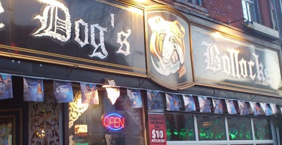 Toronto pub The Dog's Bollocks set to close next week