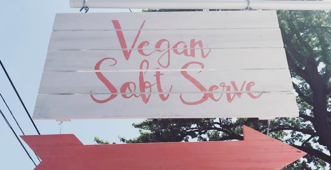 You can now get vegan soft serve from a shipping container in Toronto