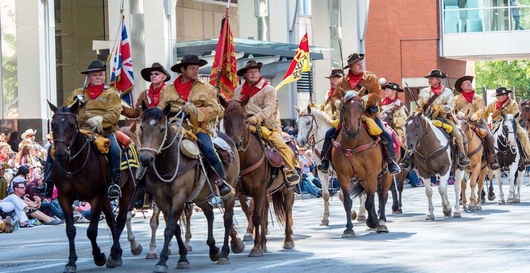 12 amazing shots of the 2018 Calgary Stampede Parade (PHOTOS)