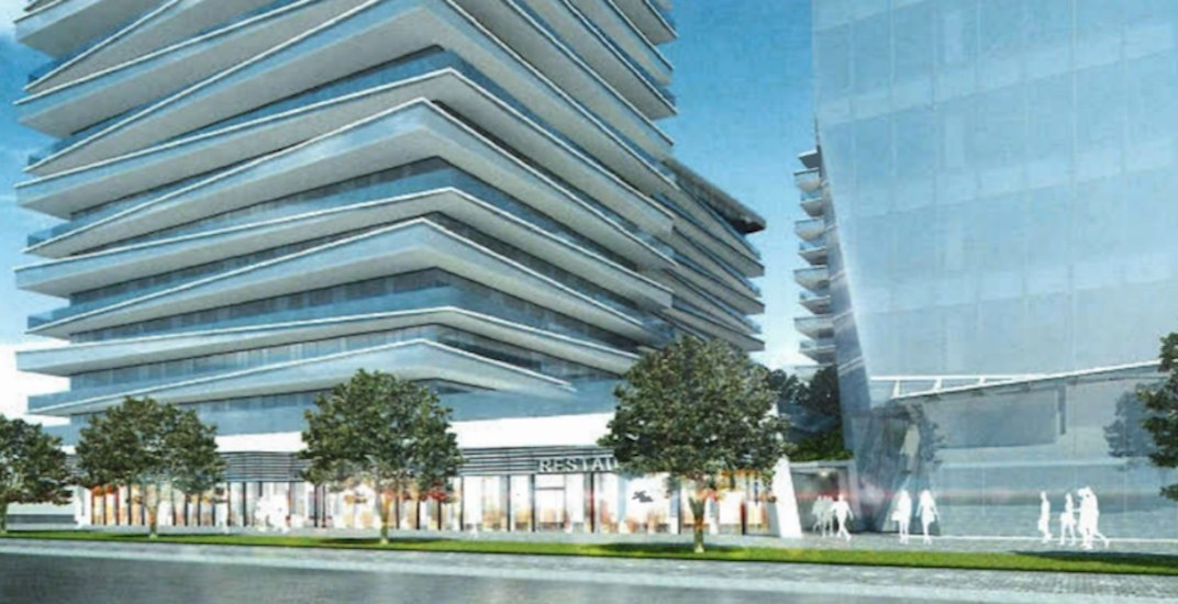 Major condo and office redevelopment with 'slanted' floors proposed for Richmond