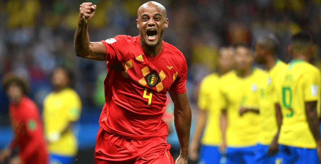 Belgium win brazil