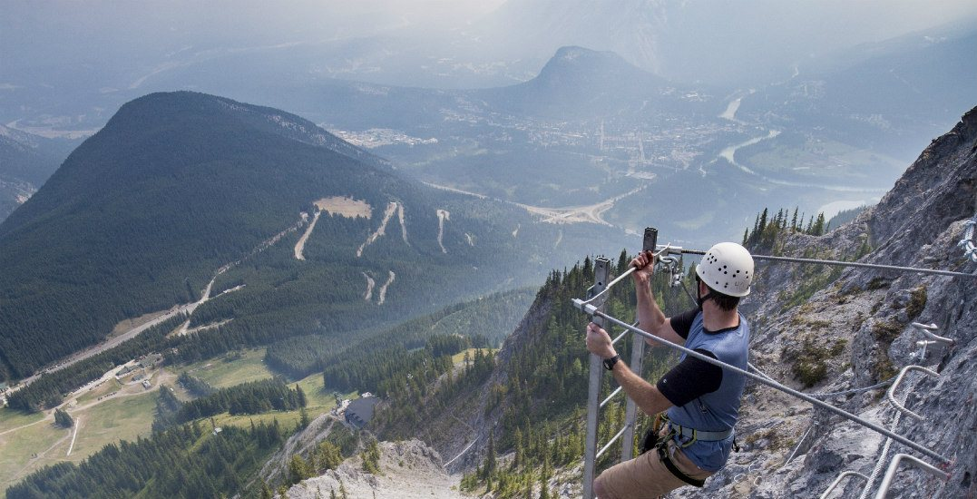 You can get high above Banff at Mount Norquay this summer