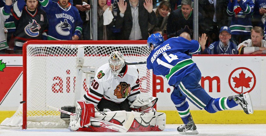 Watch every playoff goal Alex Burrows scored with the Canucks (VIDEO)