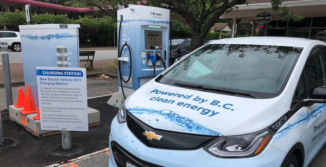 BC government completes more electric-battery vehicle charging stations