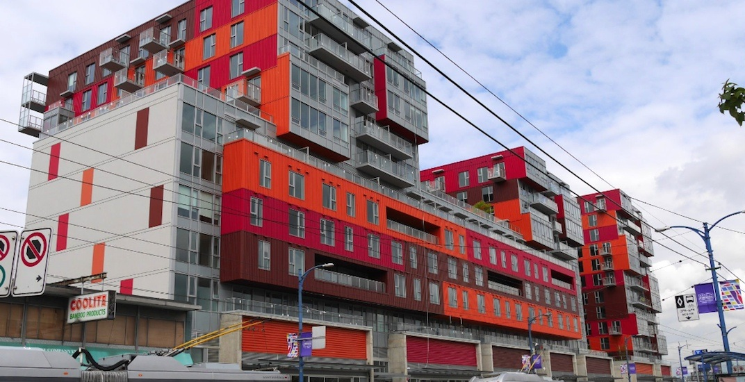 New container-inspired building with 350 homes opens in Vancouver (PHOTOS)