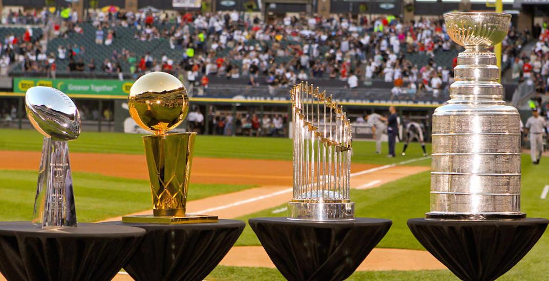Big four trophies