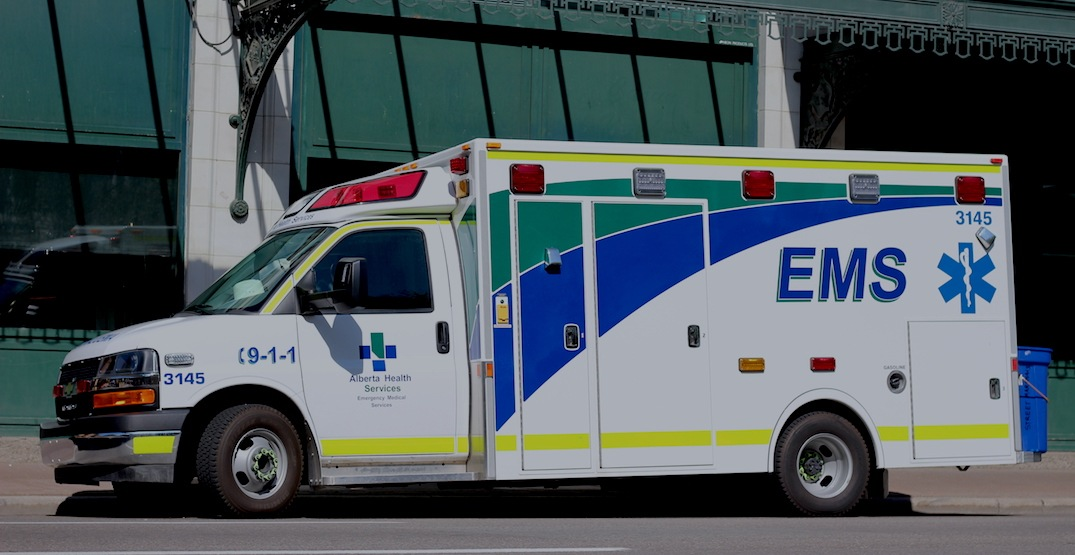 Calgary paramedic continues to help patient even after being hit by car