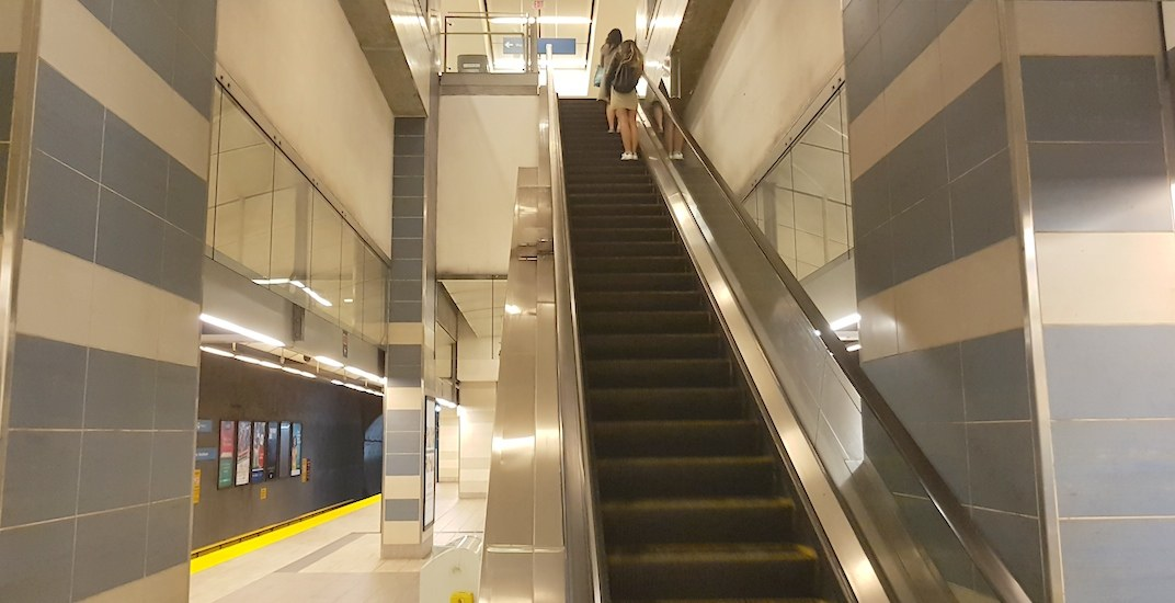 More escalators to be installed at every Canada Line station in downtown Vancouver