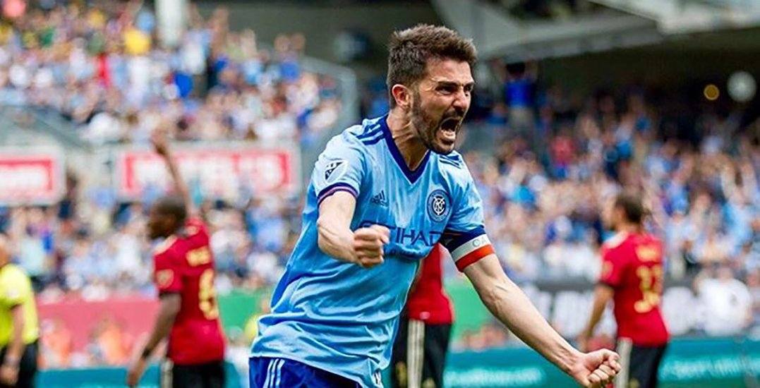 Spanish soccer legend David Villa in Vancouver to run youth soccer camps