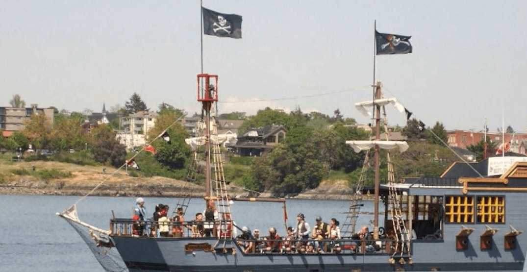 This pirate ship in Vancouver's False Creek could be yours for $549,000
