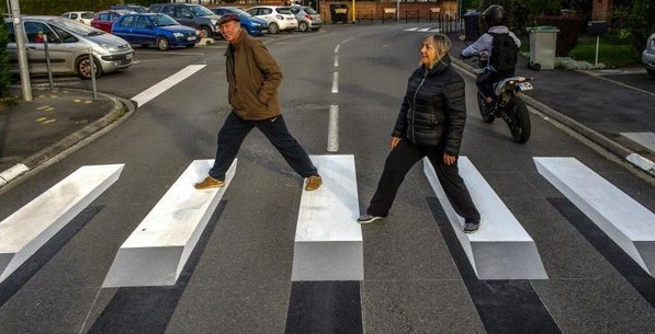 This Montreal borough is getting a mind-bending 3D crosswalk