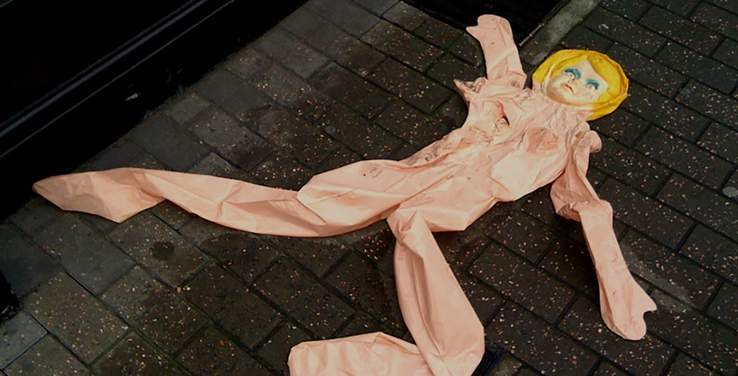 Two teenagers detained for releasing adult blow-up doll in potential flight path